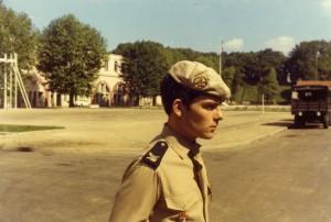 Au 74ème régiment d'infanterie au Havre.      1ère compagnie de combat       2ème section