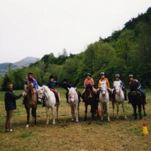 Classe verte dans les Alpes en 2004 a Lus la Croix Haute