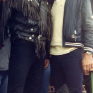 Avec Hugues Aufray à Chaffois en Franche Comté 1997