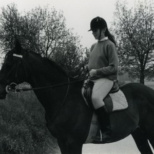 Allinton et une suppléante : Marie-Paule. L'exemple type de la suppléante qu'il faut pour le cheval et la confiance du propriétaire.